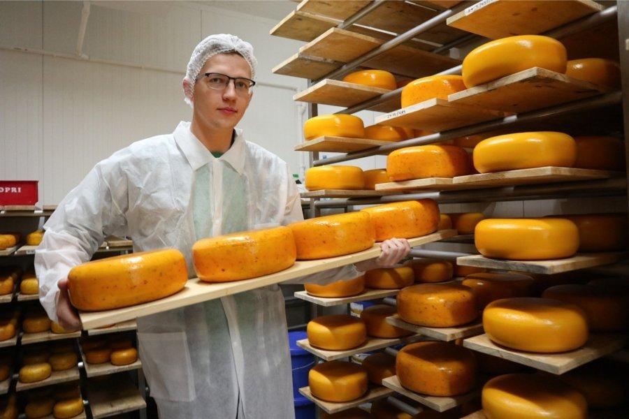 Nopri talu noorem perepoeg Joonas on juustutootmise arendamise oma südameasjaks võtnud