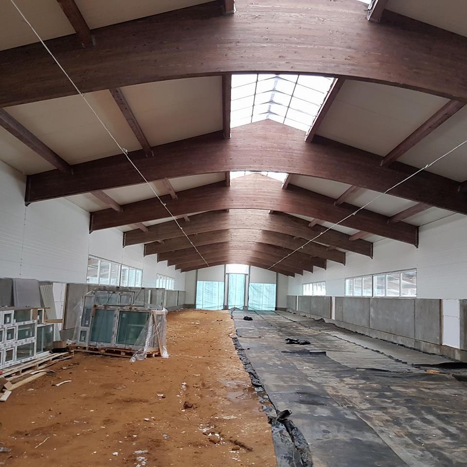 Kitsefarmi uute hoonete ehitus läheb hoogsalt