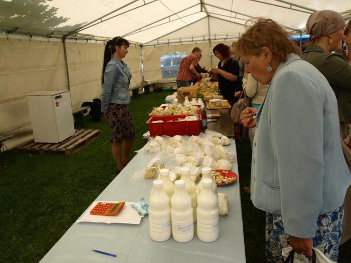 Talumeiereide Liit tutvustas end Piimapäeval Imaveres